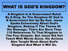 """Mt 6:33 """"Keep on, then, seeking first the Kingdom and his righteousness, and all these other things will be added to you..."""