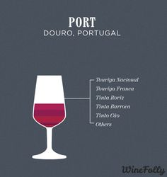 port-wine-blend--what it is made up of-A full-bodied fortified wine with notes of blackberry, black currant, graphite, figs and raisins. Red Blend Wine, Red Wine, Boot Camp, Bordeaux Wine Region, Wine Paring, Wine Facts, Wine Folly, Famous Wines, Wine Education