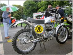 ISDT Triumph... The collaboration between frame-builder Eric Cheney and Triumph engineers to build motorcycles for the 1970s International Six-Days Trials has been often told. Their combination of the aircraft-tubing frameset and powerful Triumph mechanicals produced so successful a machine that the present-day Cheney concern still makes the ISDT frame for replicas of these bikes...