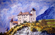 How to Paint an Ancient Castle in Watercolour — Online Art Lessons