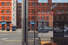 """90 Hudson"" - 24""x36"" oil painting by Nick Savides"