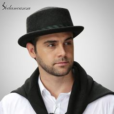 Male Fedora Hat Classic Style For Formal Church Hat With Australian Wool felt Hats for Men Isn`t it awesome? #shop #beauty #Woman's fashion #Products #Hat