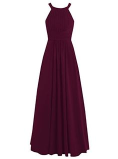 Dresstells® Long Chiffon Halter Neck Prom Dress with Straps Bridesmaid Dress Dresstells http://www.amazon.co.uk/dp/B019DFLW8G/ref=cm_sw_r_pi_dp_TrL-wb1FRQ6Q1