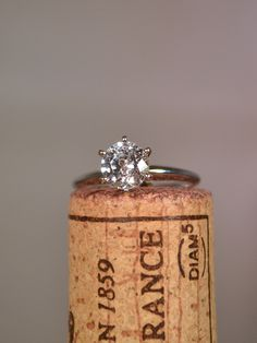 classic solitaire engagement ring | Find this ring at Ritani.com
