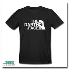The Darth Face Tee – Geek Factors - Best place to buy geeky stuff!