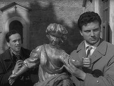 "Silvio Bagolini & Franco Interlenghi in ""I vitelloni"""