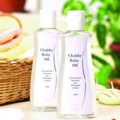 DXN Chubby baby Oil It is made from the purest oil, sunflower seed oil, wheat germ extract, Equisetum arvense, and Commiphora myrrha extract. It is a skin conditioner that moisturizes baby's delicate skin and helps protect skin from dryness, chapping, and flaking. DXN Chubby Baby Oil is also effective for adults in removing make-up and softening rough elbows and heels.  200 ml / bottle FDA Reg. No.: NN-110242 #DXN #Chubby #Oil