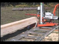 Mill Lumber with Your Chainsaw - Norwood PortaMill Chainsaw Sawmill - Portable Chain Saw Mill