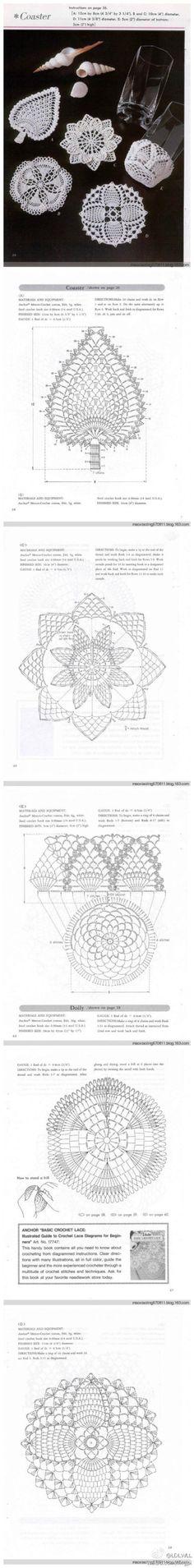 Crochet motifs patterns
