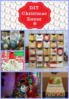 DIY Christmas Decor!...