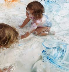 The creativity of a child. It is never too young to get your hands on some YUPO!  *pic's provide by: 4 Kids Care 4kidscare.com #YUPO #DoitonYUPO #YUPOWaterColor #WaterColor #Art #Kids #Fun