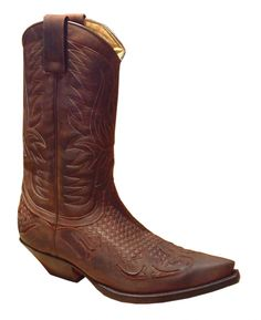 Sendra 3241 brown-tr. Western Boots