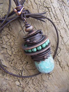 What Are The Jewelry Trends For This Year. Copper Jewelry, Leather Jewelry, Wire Jewelry, Pendant Jewelry, Jewelry Crafts, Jewelry Art, Beaded Jewelry, Jewelry Necklaces, Jewelry Design