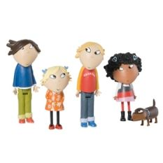 (Currently out-of-stock everywhere) Charlie & Lola Mini Character Playset 3rd Birthday, Birthday Gifts, Barn Cake, Golden Bear, Tk Maxx, Little Man, Childhood, Toys, Children