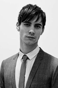 harry lloyd. His smile and glasses on The Iron Lady.
