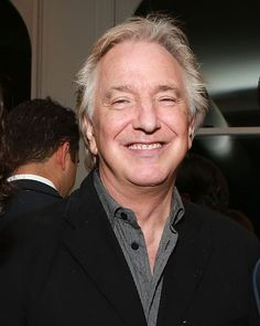 Alan Rickman attends CBGB US Premiere Opening Night After Party at Private Residence on October 2013 in New York City. Uk Actors, Actors & Actresses, British Actors, Alan Rickman Severus Snape, Severus Rogue, Rupert Grint, Half Blood, Best Actor, Indie