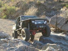 Modified k5 rock crawler