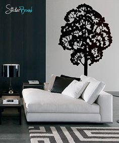 Vinyl Wall Decal Sticker Tree #184 | Stickerbrand wall art decals, wall graphics and wall murals.