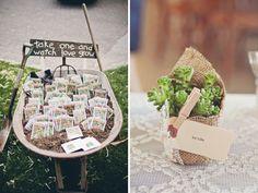 Les cadeaux d'invités : idées et bonnes adresses - Les Marieuses