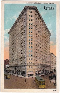 Hanna Building at Playhouse Square, Cleveland, 1921