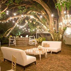Woodland Lounge Area