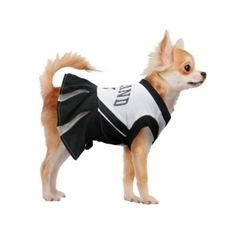 Oakland Raiders NFL Dog Cheerleader Costume