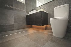 Modern Bathroom Design Ideas, Pictures, Remodel and Decor - wall and floor tile