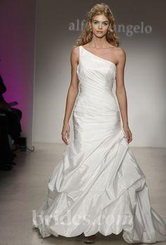 e5a04b8ce89 One-Shoulder Wedding Dress  Alfred Angelo
