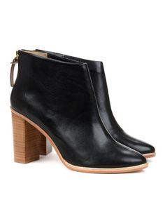 Ted Baker leather heeled ankle boots