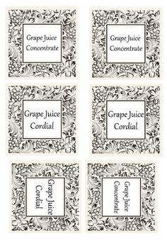Crockpot Grape Juice Cordial/Concentrate