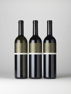Wine triptych for the EHG by melissa pisanello, via Behance Wine label #taninotanino #vinosmaximum