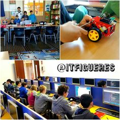 3r dia del #campustecnològic de #itfigueres a la #sallefigueres ! Cadascú ha escollit el seu taller: #legoev3 #robotica #legomindstorms #Arduino #meccano #bluetooth #appinventor #programacio #videojocs #coronasdk #lua #informatica #tecnologia #innovacio #figueres #visitfigueres #setmanasanta2016 #tic #educacio #ensenyament by itfigueres