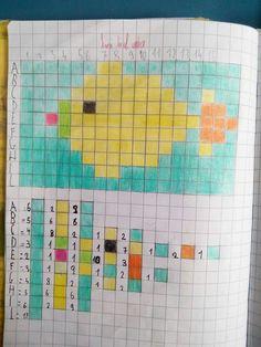 Pesce Pixel Art, Educational Activities For Kids, Classroom Activities, Kindergarten Stem, Computational Thinking, Graph Paper Art, Computer Coding, Kids Math Worksheets, Coding For Kids