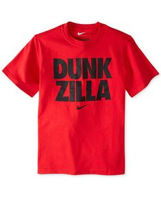 Nike Boys' Basketball Dunk Zilla Tee