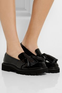 MSGMPatent-leather Loafers