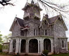 Abandoned mansion in Malvern, PA.                                                                                                                                                                                 More