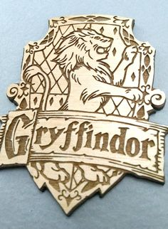 Gryffindor House Crest Magnet by JuniperandIvy