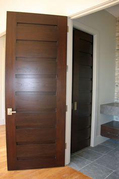 Asheville Area Home   Spanish Cedar Entry And Interior Doors   Rocky  Mountain Hardware.