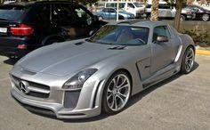 SLS AMG custom car