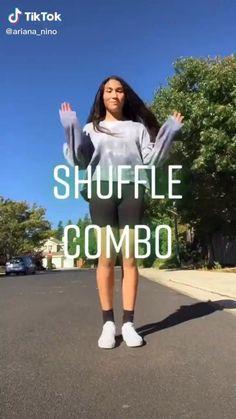 Hip Hop Dance Videos, Dance Music Videos, Dance Choreography Videos, Dancer Workout, Gymnastics Workout, Cool Dance Moves, Dance Tips, How To Shuffle Dance, Fitness Workouts