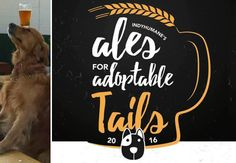 Indyhumane S Ales For Adoptable Tails Beer Dogs And A Fundraiser