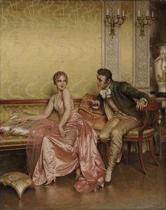 Charles Joseph Frederic Soulacroix (French, 1825- 1879) Романтичное. Подборка картин.. Обсуждение на LiveInternet - Российский Сервис Онлайн-Дневников