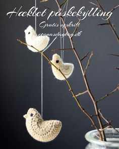 Appliques, Crochet Projects, Knit Crochet, Christmas Ornaments, Knitting, Holiday Decor, Crafts, Flower, Felting