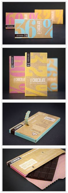 Package Chocolat Design Gastronomic Foot Sweet Chocolate Creative Packaging