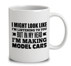 In My Head I'm Making Model Cars