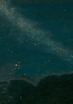 Adam Elsheimer (German, 1578 - - The Flight into Egypt (Detail), 1609 German Nocturne, Constellations, Cosmos, Art Du Temps, Look At The Stars, Photoshop, To Infinity And Beyond, Vincent Van Gogh, Stargazing