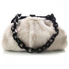 CHANEL Fur No.  5 Frame Bag.