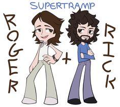 Supertramp - Roger Hodgson & Rick Davies
