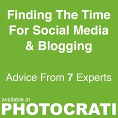 One of the very common questions that come through Photocrati discussions, our Udemy courses and the Photographers SEO Community relate to social media and blogging.  Instead of answering it by ourselves we reached out to some friends and asked for their advice for the Photocrati community.  Read advice from 7 experts at http://www.photocrati.com/social-media-blogging/