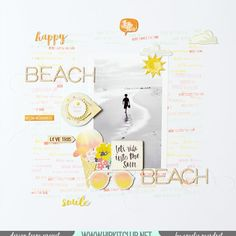 Sharing a gorgeous LO by DT member @amelie_mordret created with the goodies in our #july2015 #hipkit. Enjoy! @octoberafternoon #summertime @cratepaper #poolside @ellesstudio #letseat #scrapbooking
